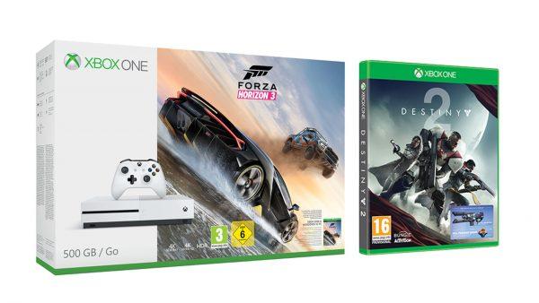 Xbox One S with Destiny 2b