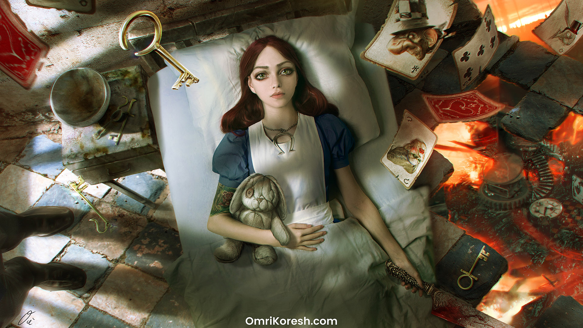 American McGee announces Alice: Asylum proposal