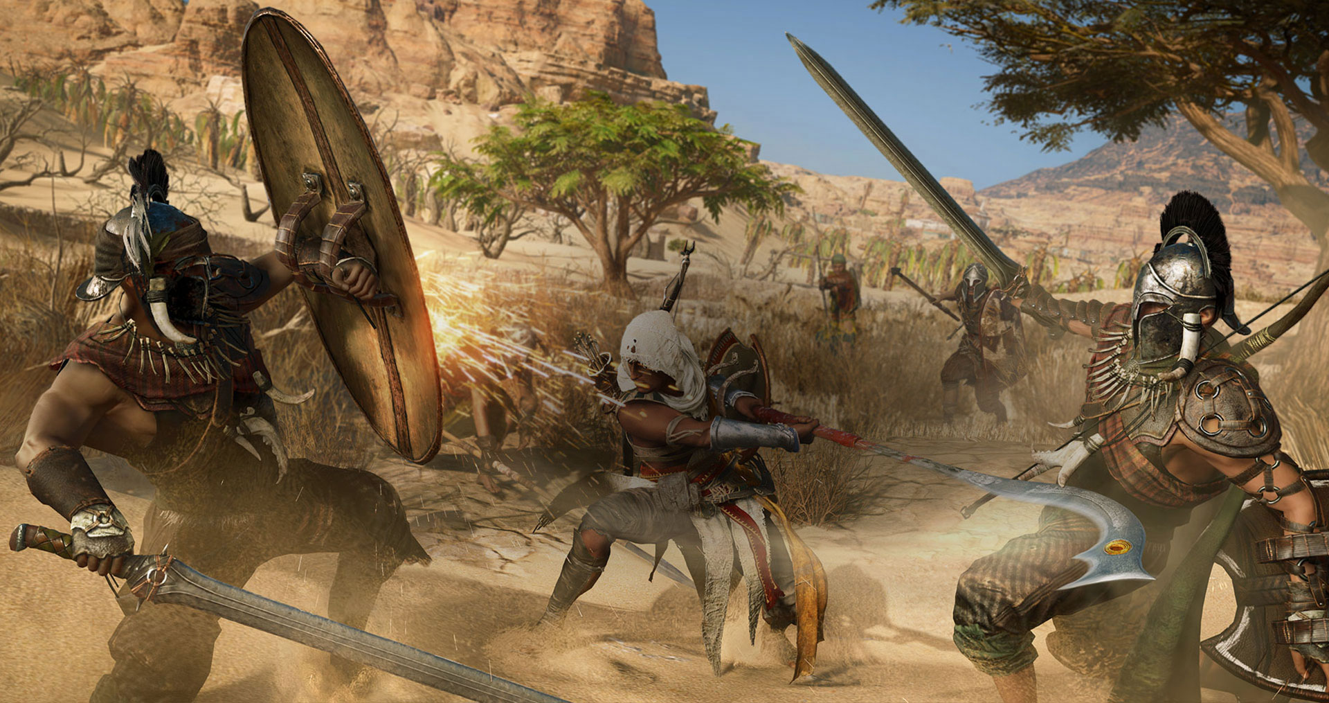 The new Assassin's Creed Origins trailer shows off the stabby beginnings of the whole saga