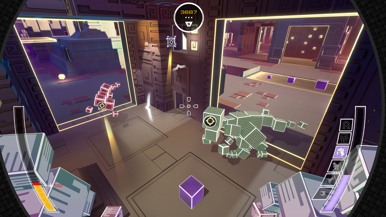 Atomega is a Multiplayer Arena Shooter From the Makers of Grow Home