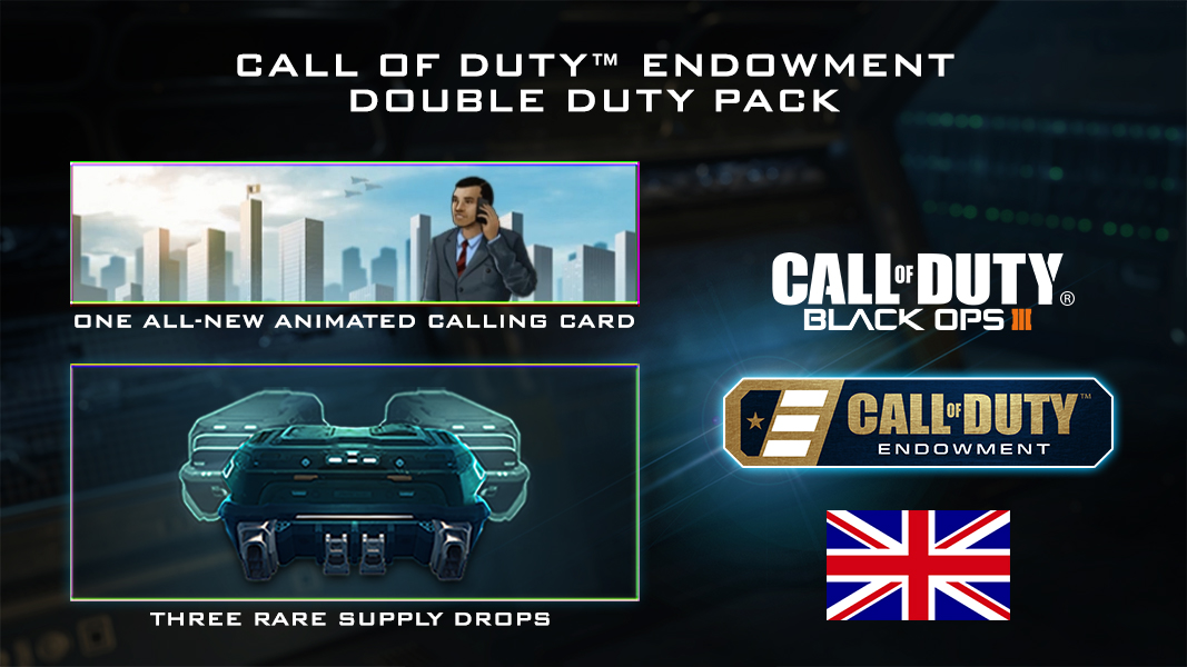 Call of Duty Endowment comes to the UK