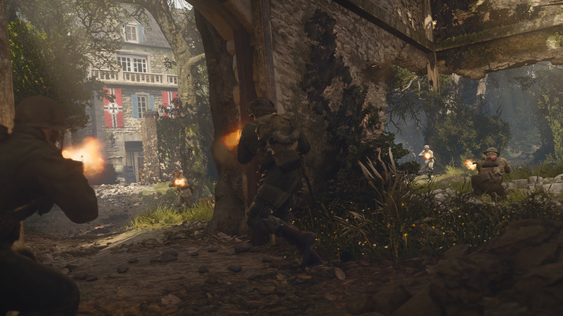 Call of Duty: WWII Season Pass Will Include Carentan Bonus Map