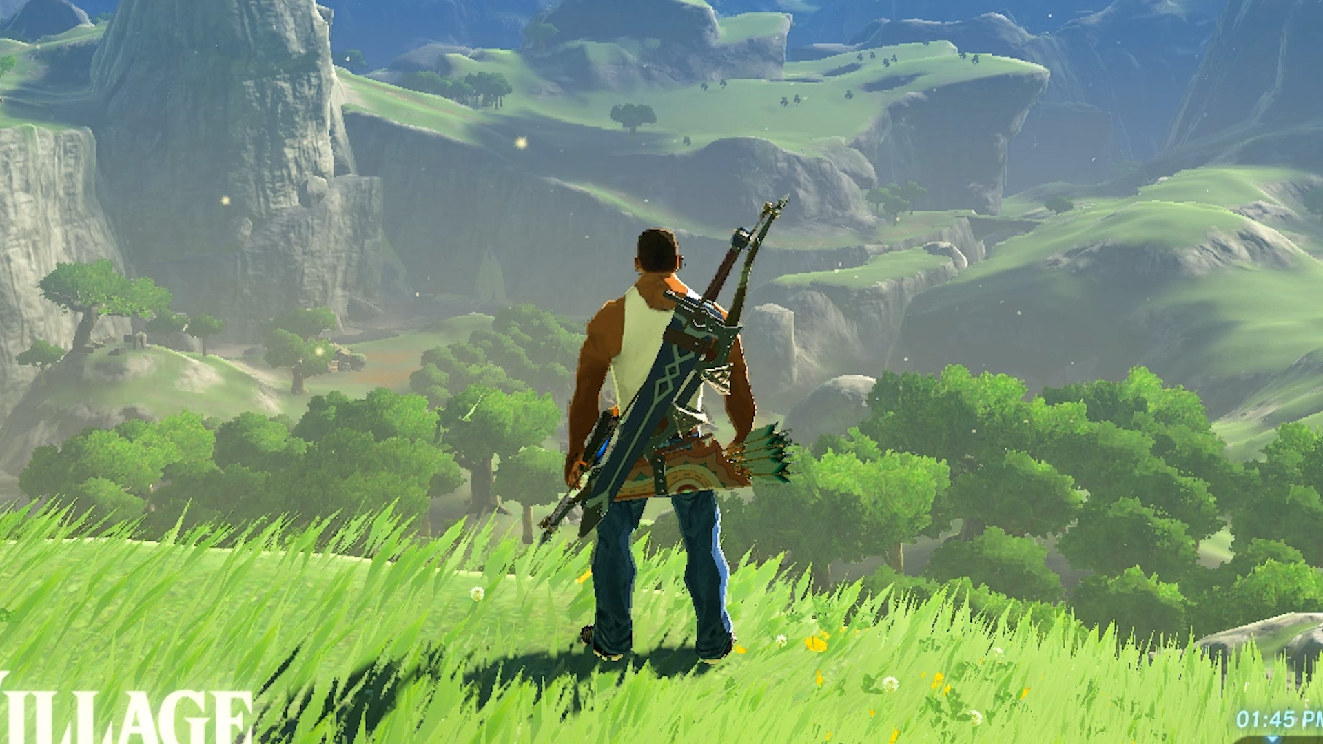 One thing emulated Zelda: Breath of the Wild lets you do that the