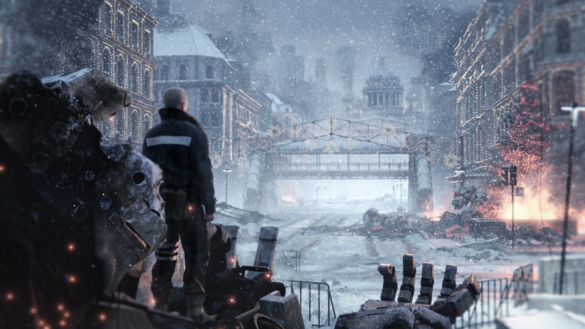 Left Alive Sure Looks A Lot Like A Metal Gear Sequel With Mechs In The First Gameplay Trailer Vg247