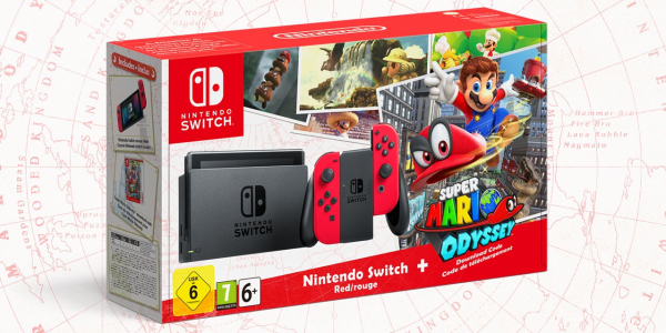 switch mario odyssey model