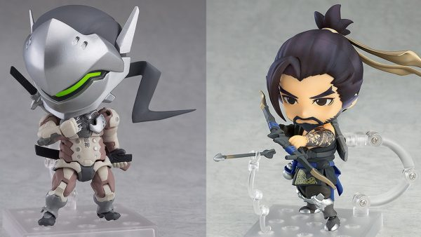 Genji and Hanzo Nendoroid Figures