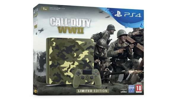 PS4 Call of Duty WW2 Limited Edition console