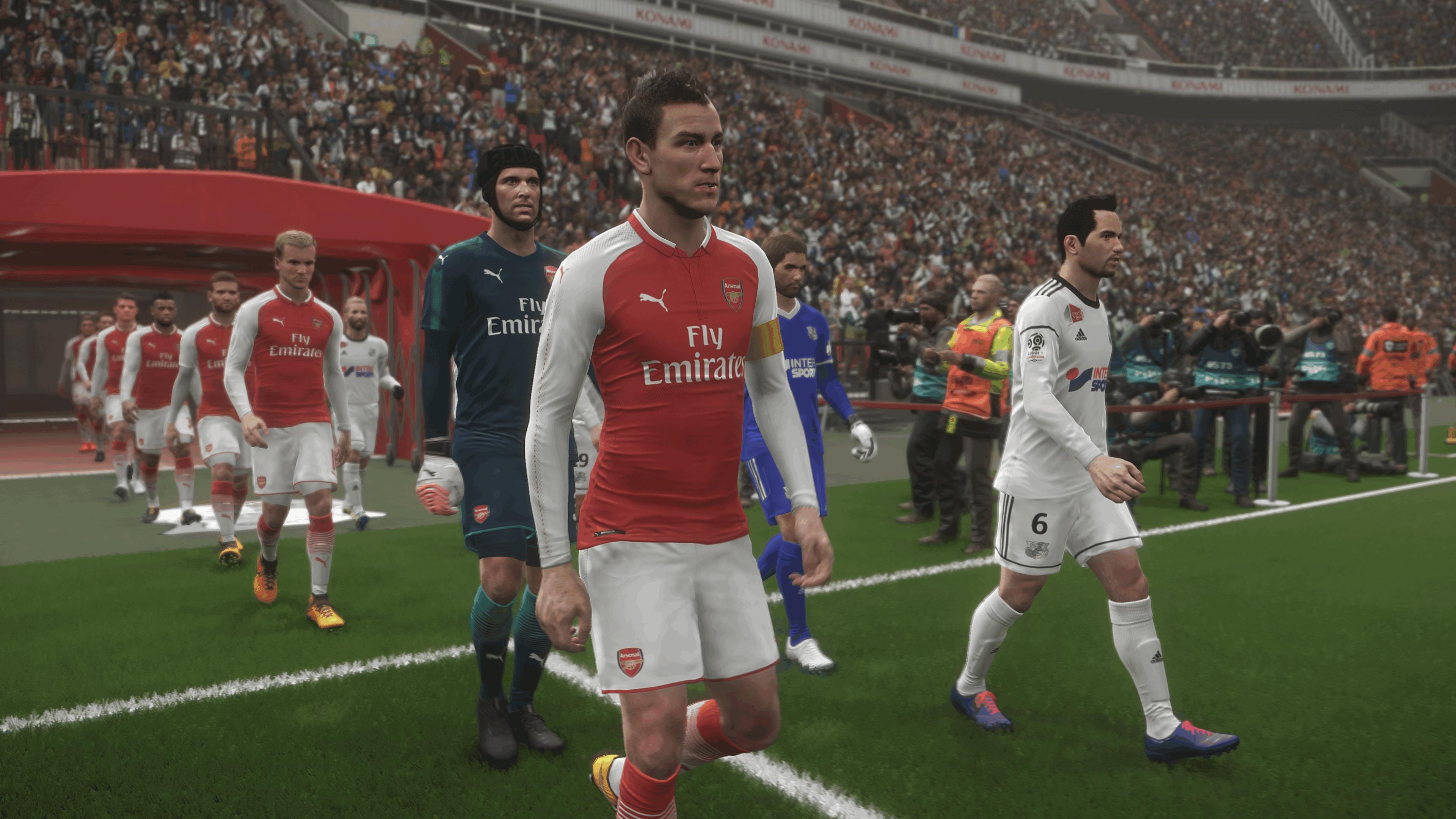 NVIDIA Ansel teknolojisi ile alınan Pro Evolution Soccer 2018 görselleri kusursuz görünüyor