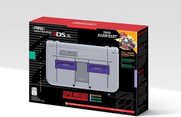 SNES Classic US Nintendo 3DS XL