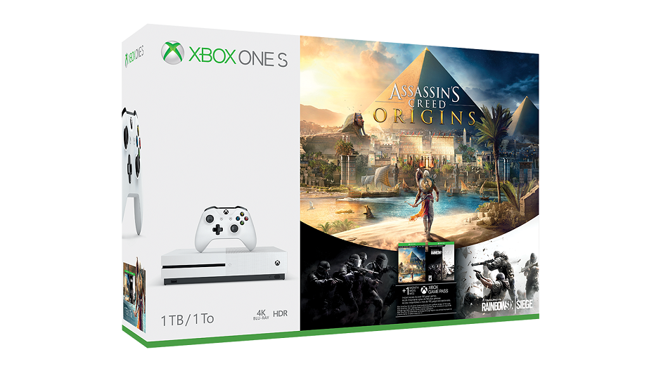 Two Assassin's Creed Origins Xbox One S bundles are available for pre-order