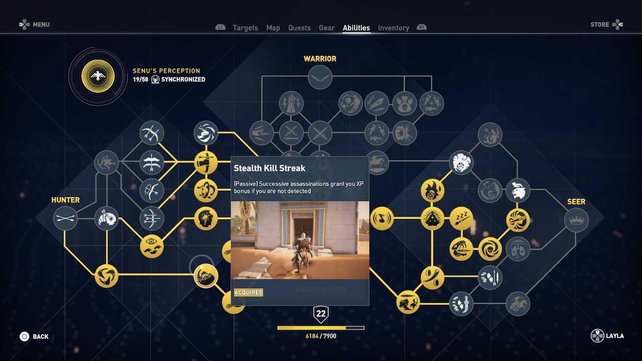 assassins_creed_origins_best_abilities_hunter_seer_warrior_stealth_streak