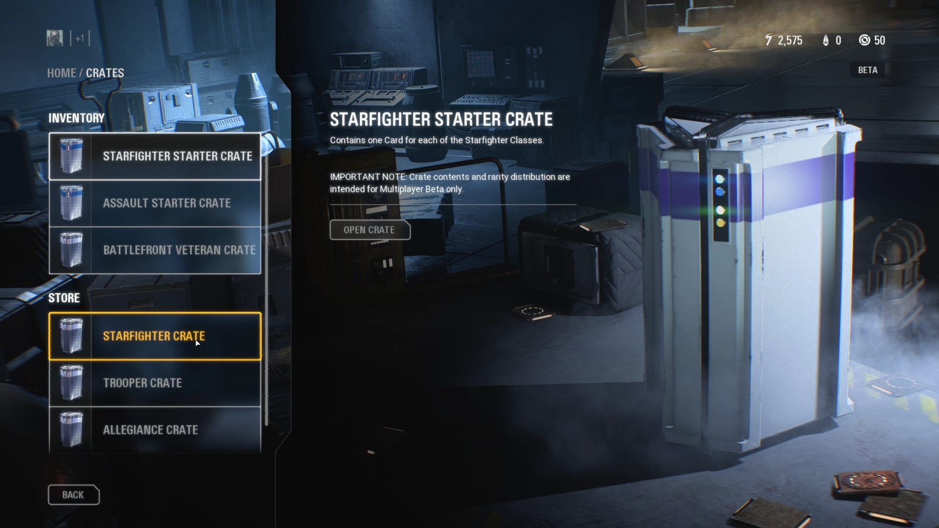 Star Wars Battlefront II's Crate & Progression Systems Being Eyeballed for Change
