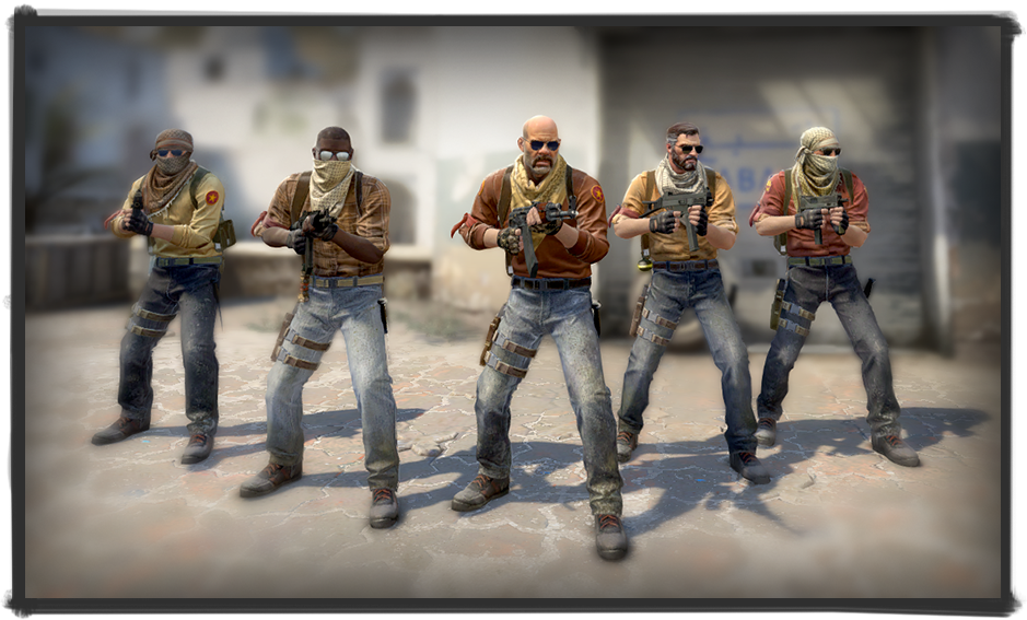 counter-strike new character models