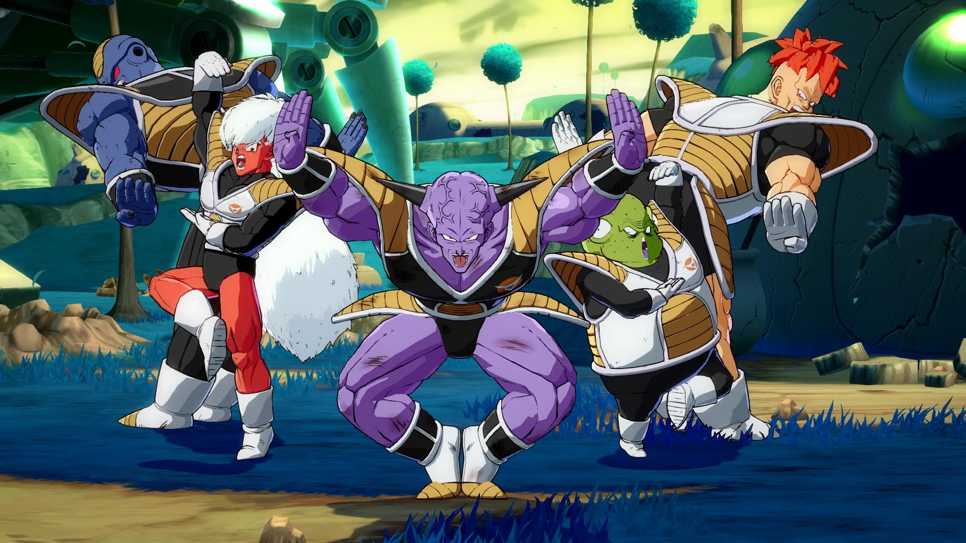 The most flamboyant team in the universe - Ginyu Force