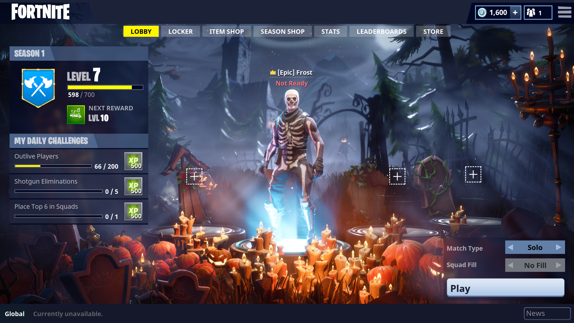 Fortnite Halloween event and major Battle Royale upgrade are