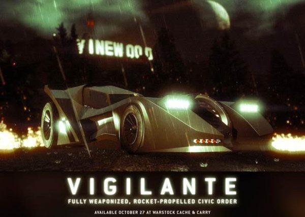 GTA Online's Vigilante Batmobile now available to buy, $400,000 ...