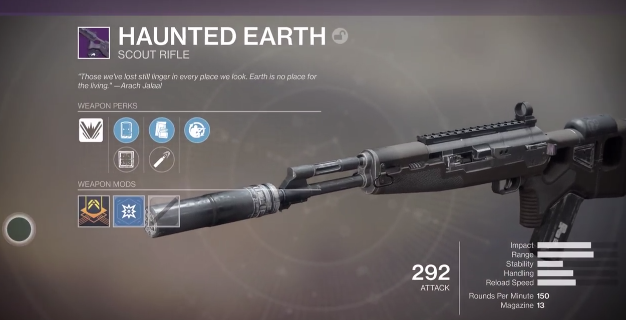 Destiny 2: is Dead Orbit's Haunted Earth scout rifle worth 50,000 Glimmer?
