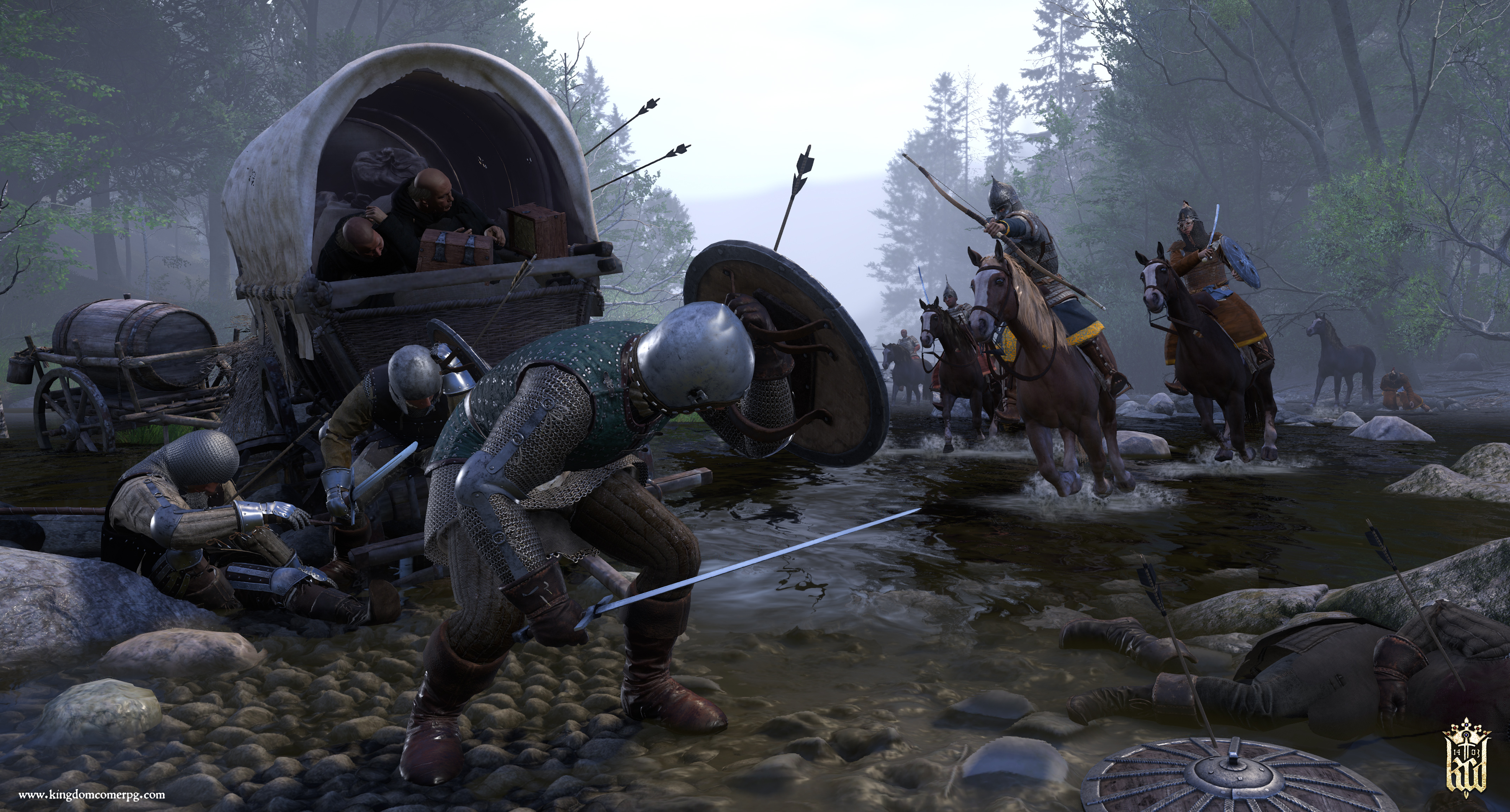 Kingdom Come: Deliverance is getting four story DLCs and free