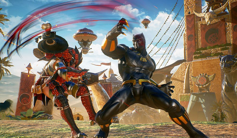 Here's a look at Marvel vs Capcom: Infinite fighters Black Panther and Sigma