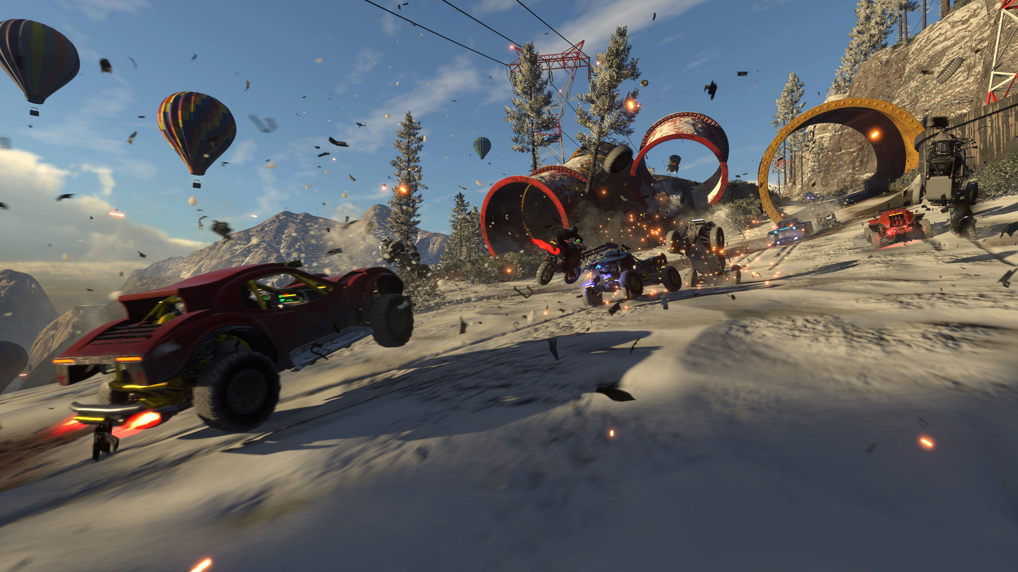 Arcade Racer Onrush Is Getting an Open Beta This Month