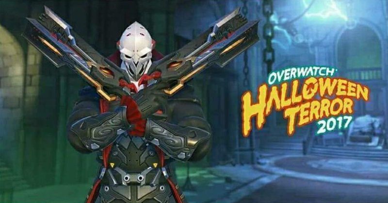 See Overwatch's new skins before the 2017 Halloween event begins