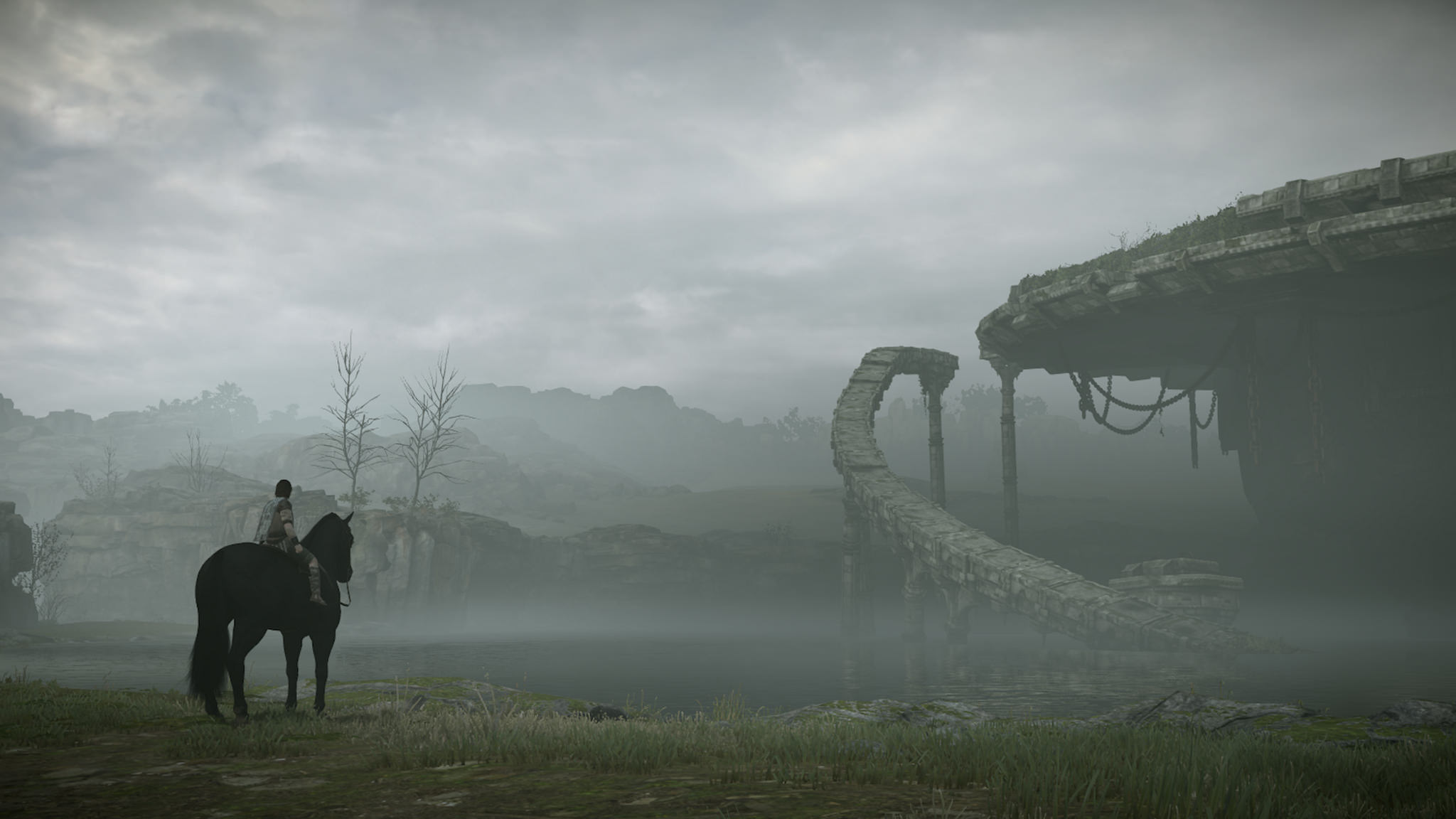 Shadow Of The Colossus PS4 Gameplay Videos Showcase Epic Boss Battles