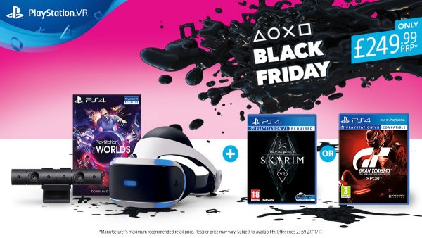 PSVR Bundle Black Friday 2017