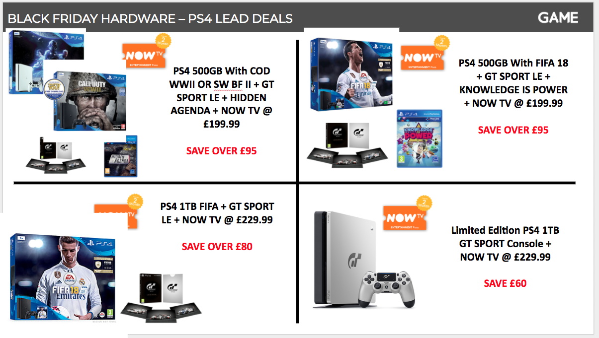 Game Black Friday Deals Include The Cheapest Xbox One X Deal Yet Plus Xbox One S For 169 99 Vg247