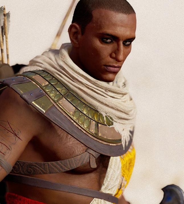 Assassin S Creed Origins Pc Users Who Like A Bit Of Scruff Can