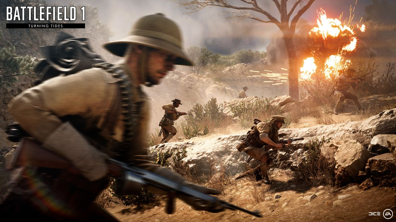 Battlefield 1 Turning Tides DLC Release Date Confirmed