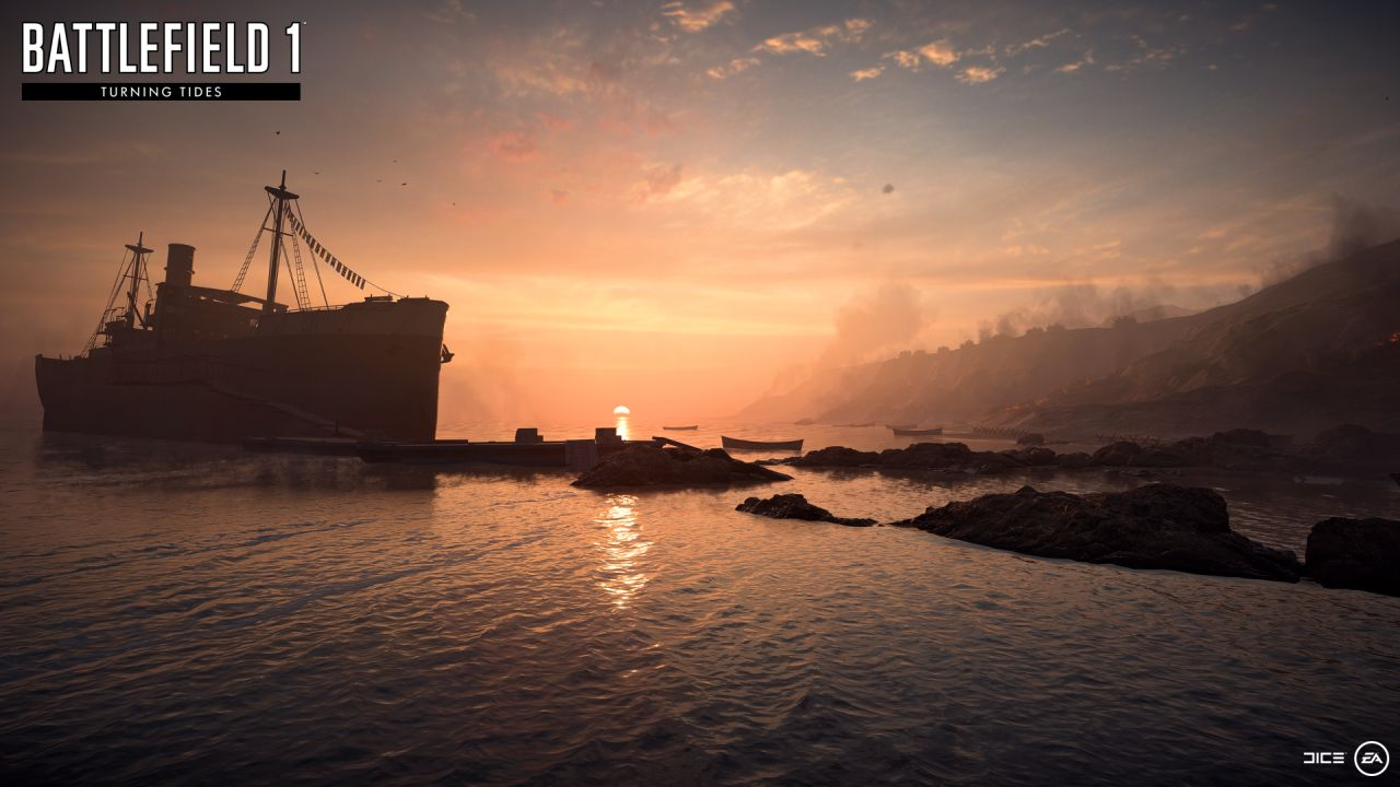 Battlefield 1 Turning Tides Expansion Gets a Release Date