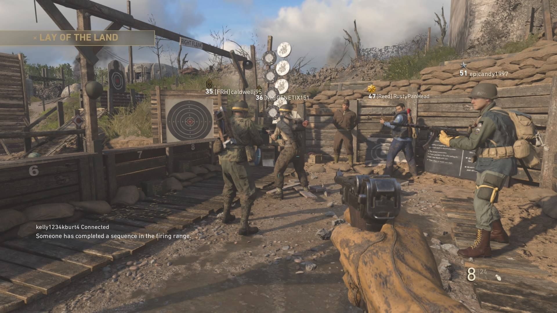 The Latest Call Of Duty Ww2 Patch Restores Headquarters To Full Operation And Introduces Other Tweaks Vg247