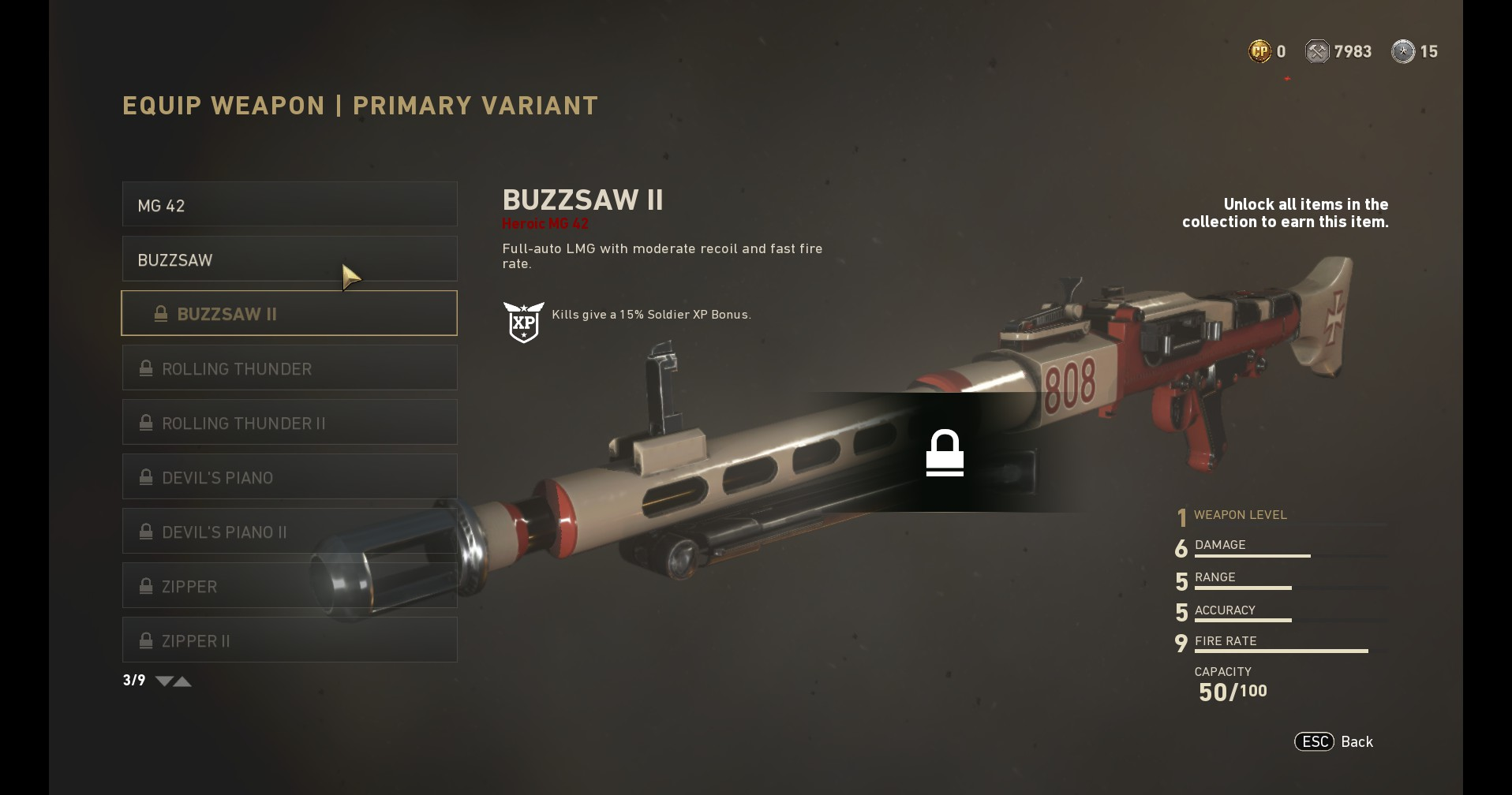 Call Of Duty Ww2 All Weapon Variants And Skins Currently In The Game Vg247