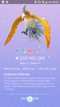 pokemon go hooh shiny