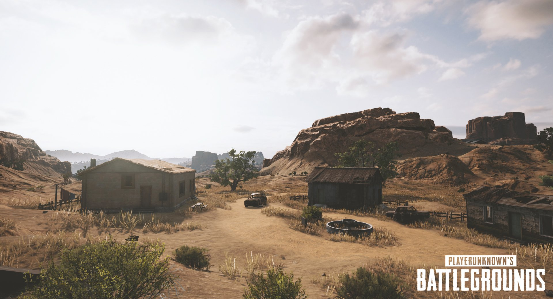 PUBG Developer Reveals Upcoming Desert Map with New Screenshots