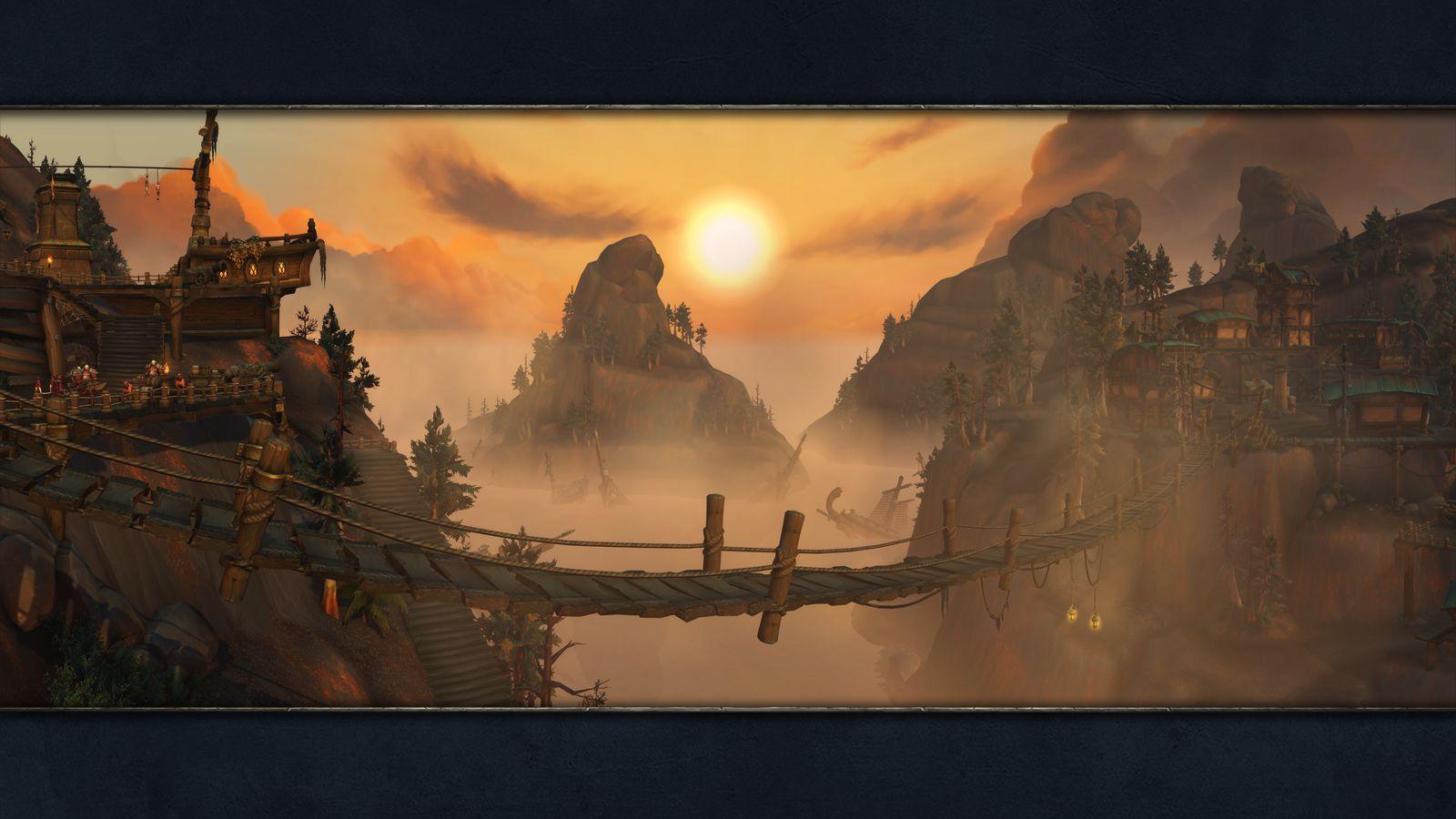 world of warcraft zones
