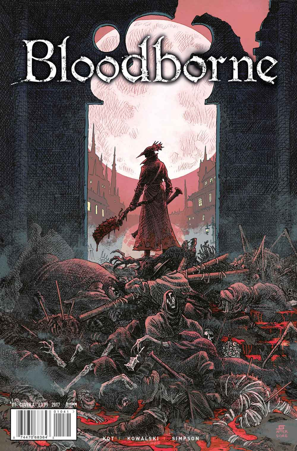 Bloodbornes Debut Comic Features Four Cover Options And Some Great Interior Artwork