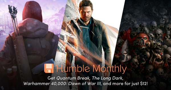 Humble monthly december