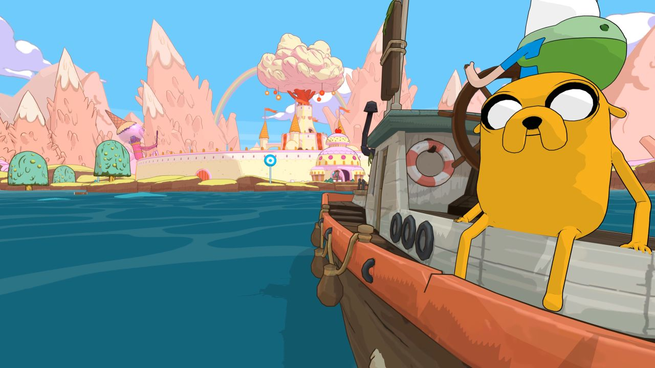 Adventure Time: Pirates of the Enchiridion is an open-world