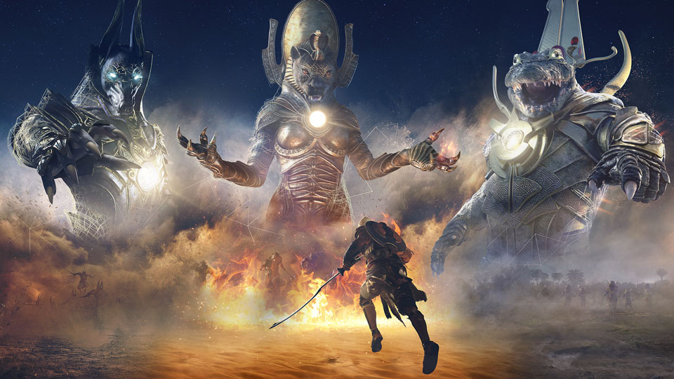 All Three Trials Of The Gods Live In Assassin S Creed Origins