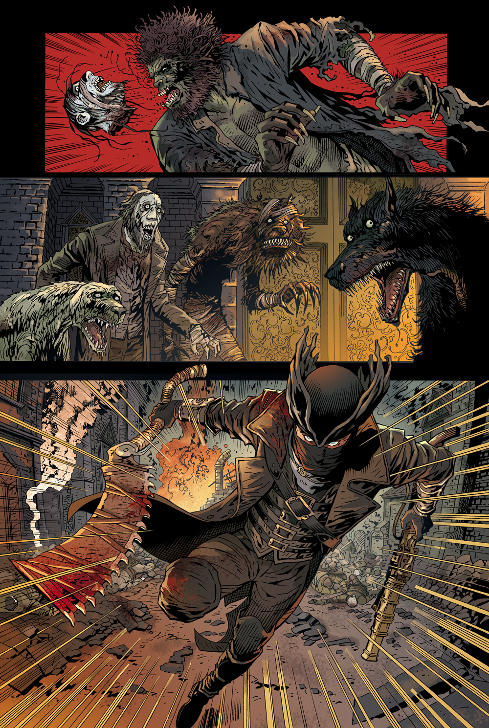 Bloodborne S Debut Comic Features Four Cover Options And Some Great Interior Artwork Vg247