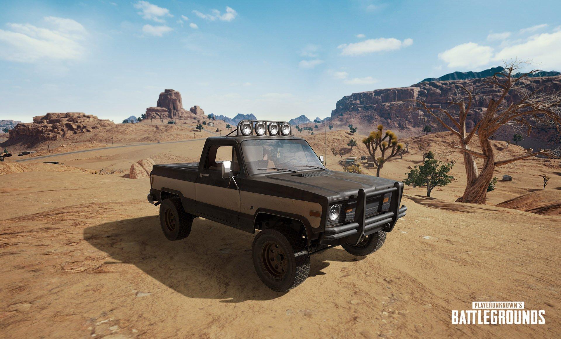 pubg pickup truck