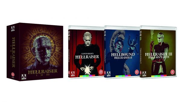 Hellraiser Blu-ray Trilogy Box Set