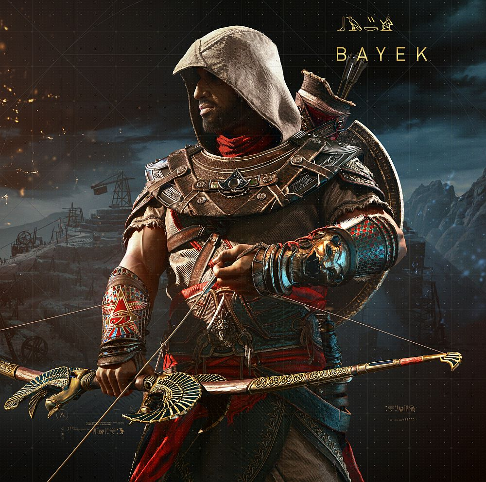 Assassin's Creed Origins DLC The Hidden Ones, Discovery Tour, Curse