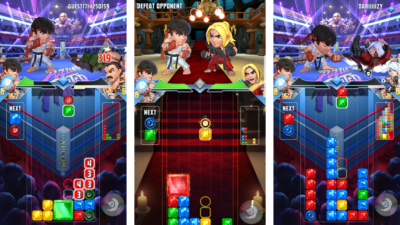 Puzzle Fighter eyeing PS4 and Xbox One re-release