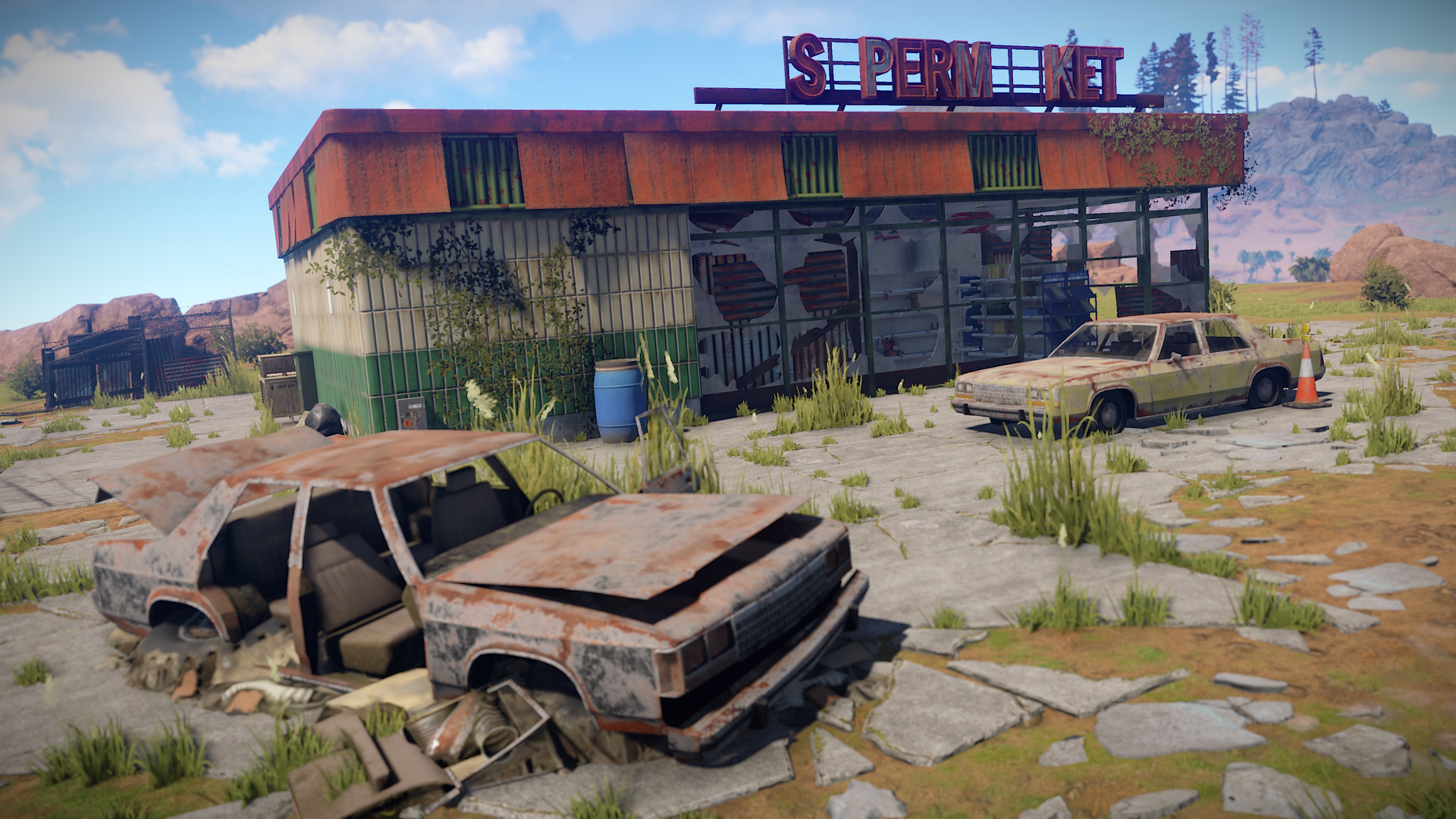 Open world survival game Rust set to leave Early Access in February