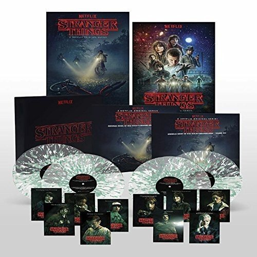 stranger things vinyl box set soundtrack ost collection