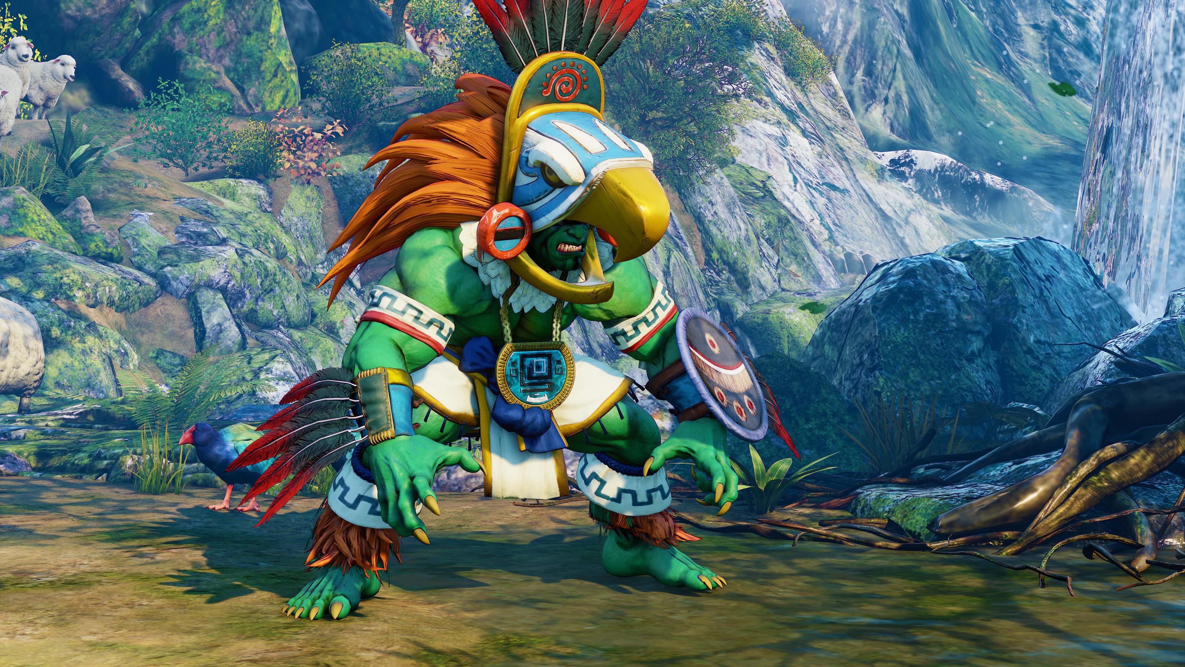 Blanka joins Street Fighter V on February 20