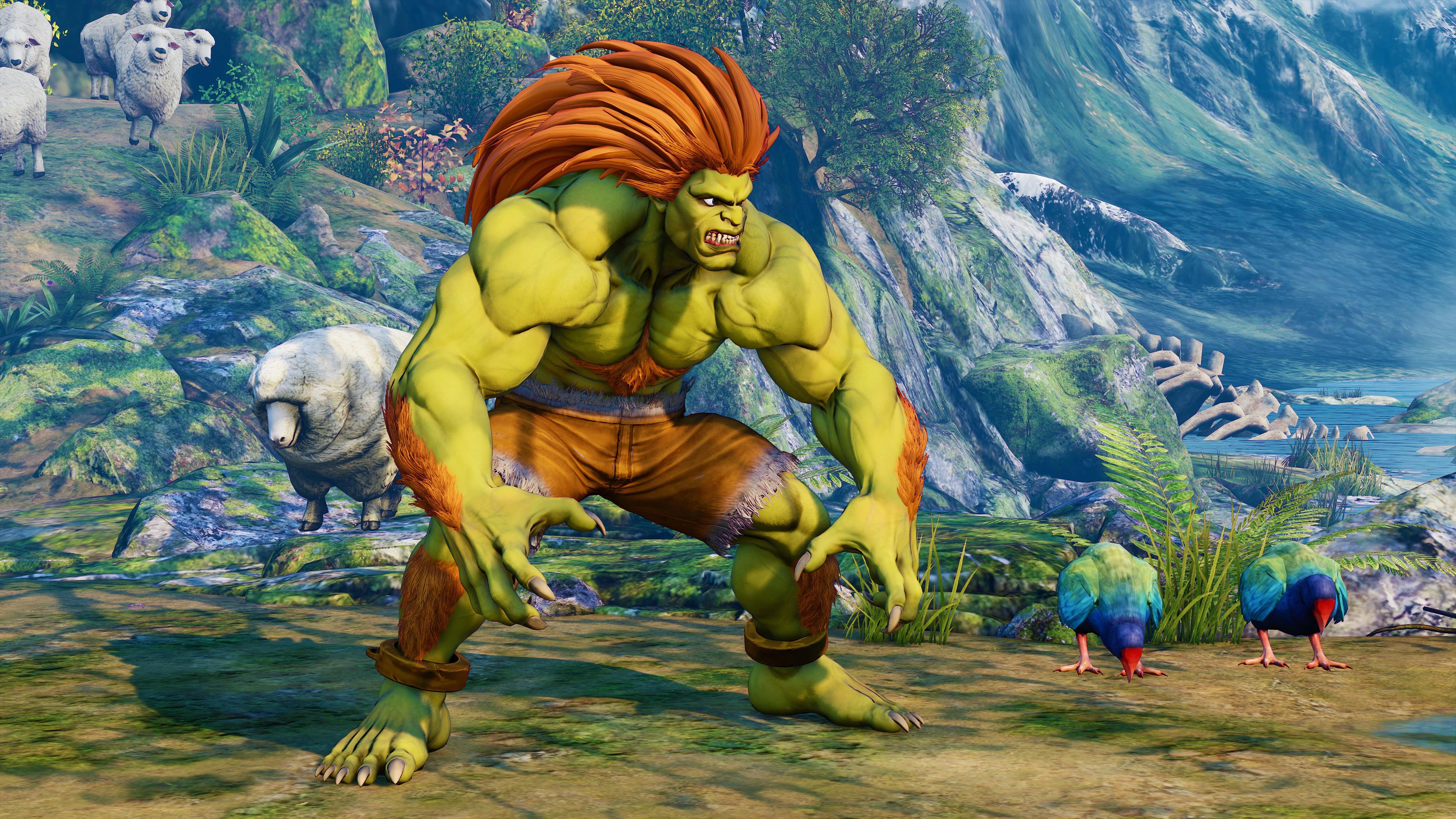 Here's Blanka electrifying Street Fighter 5
