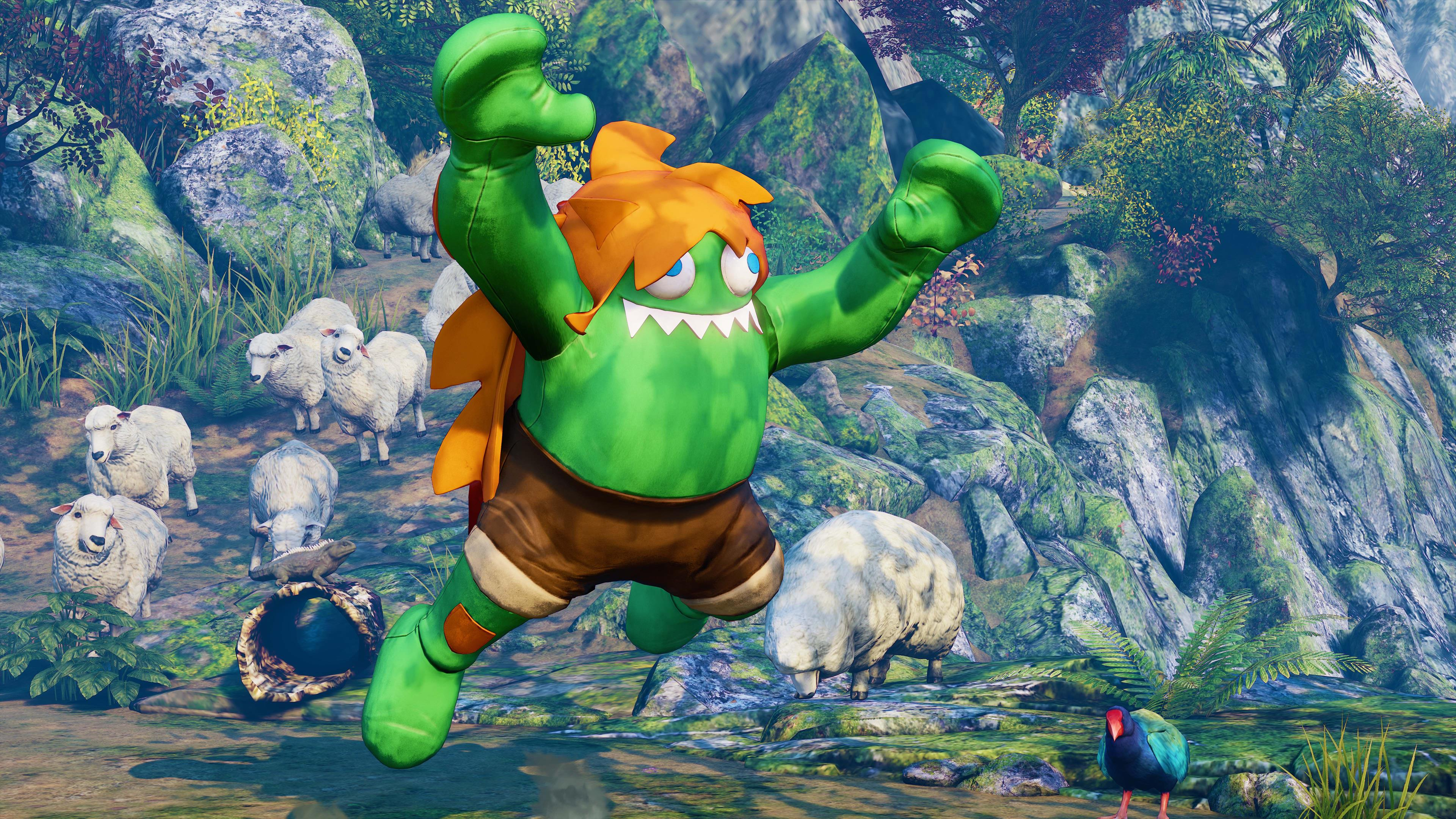 Blanka Street Fighter 5 Moves - How To Kick Ass